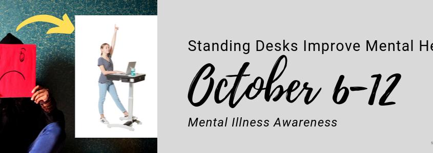 Standing Desks Improve Mental Health